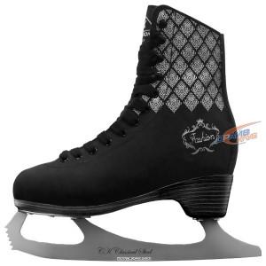 Коньки фигурные СК Fashion Lux Black