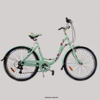 Велосипед HORST Perle бирюза/малиновый