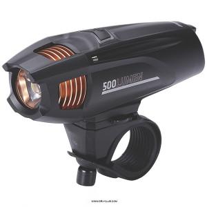 """Фонарь велосипедный BBB """"Strike 300 Lumen LED"""", передний, черный"""