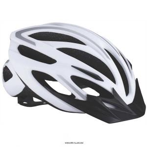 Шлем велосипедный BBB Taurus белый/серебряный