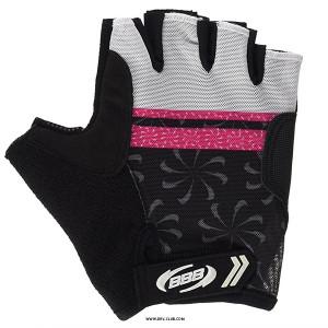 Перчатки велосипедные BBB Force magenta BBW-43, черный