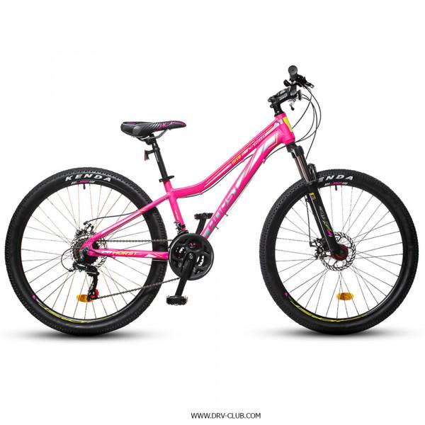 Велосипед HORST Rocket розовый/серый/лимонный