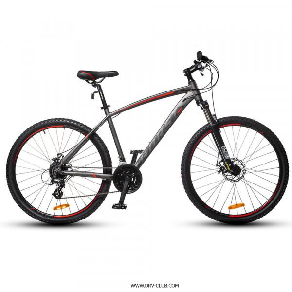 Велосипед HORST Messer серый/красный