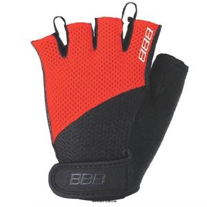 Перчатки велосипедные BBB Cooldown Chase BBW-49, черно-красный