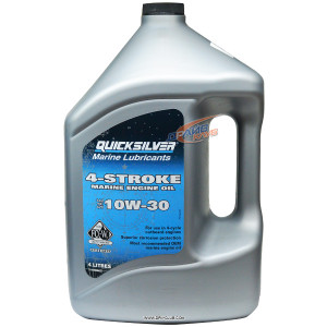 Масло Quicksilver 4-stroke marine engine oil 10w30