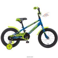 Велосипед Novatrack Extreme, синий