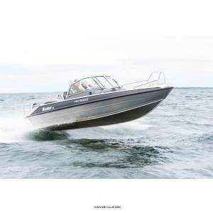 Алюминиевый катер Buster XL с подвесным мотором