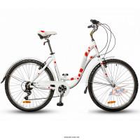 Велосипед HORST Perle белый/красный