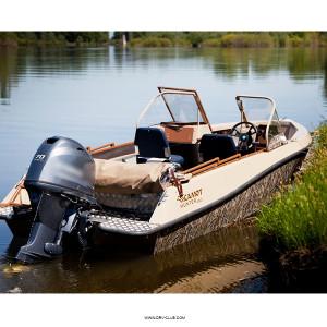 Моторная лодка Салют Explorer 480 Hunter