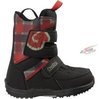 Ботинки сноубордические Burton Grom Black-white