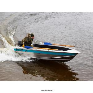 Алюминиевая моторная лодка NewStyle 390