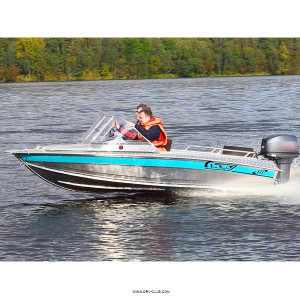 Алюминиевая моторная лодка NewStyle 433 классика