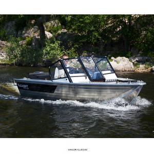 Моторная лодка Салют PRO 430