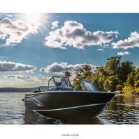 Моторная лодка Салют RealCraft 470 Fish PRO