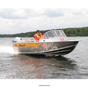 Алюминиевая моторная лодка Wellboat 45i