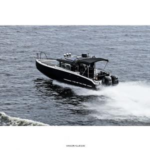 Алюминиевый каютный катер XO 270 RS Front Cabin OB с подвесными моторами